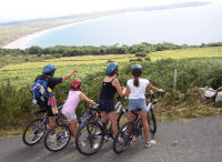 Cycling on the peninsula